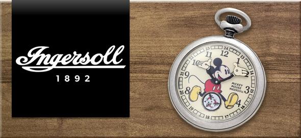 INGERSOLL(インガソール)懐中時計はこちら