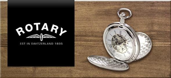 rotary ロータリー懐中時計