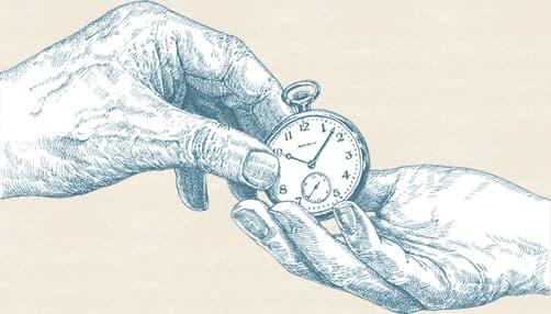 懐中時計 受け継ぐイメージ