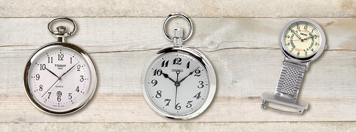 仕事で懐中時計を使うなら