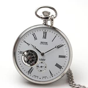エポス/epos/シースルーバック/2090 懐中時計