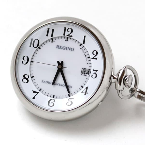 シチズン(CITIZEN) レグノ ソーラー電波 懐中時計  KL7-914-11