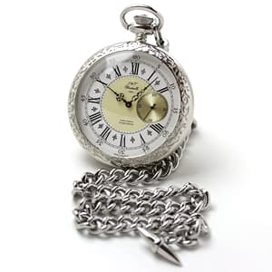 J&Tウィンドミルズ(windmills) Milton WGP10001-50 銀無垢 懐中時計